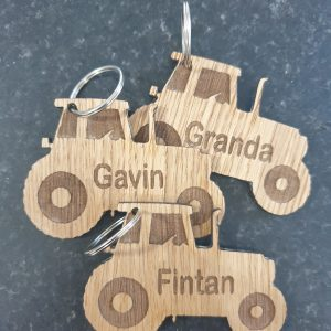 Tractor keyring
