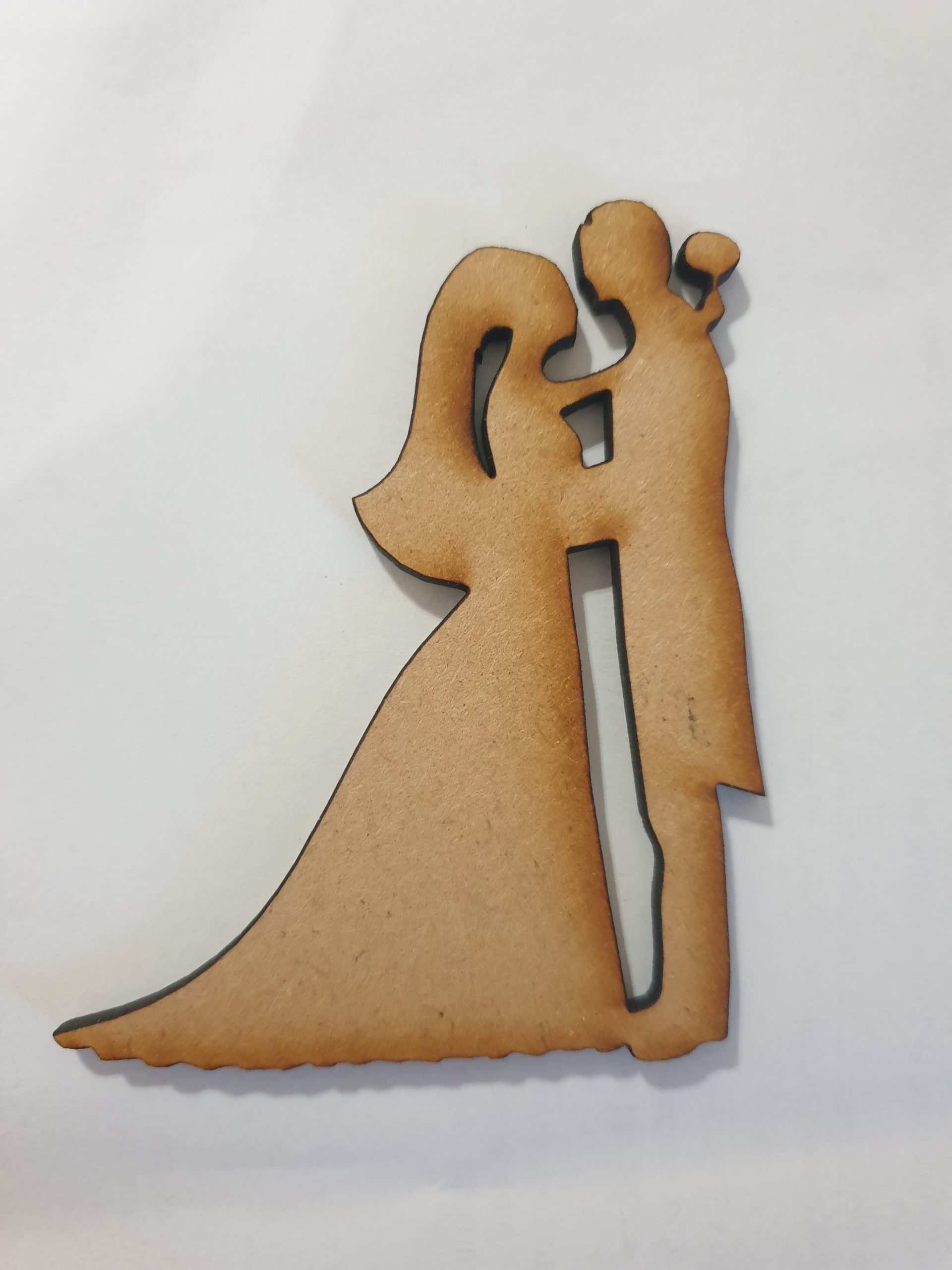 Wedding Silhouette Pack Of 4 Wooden It Be Nice